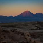 Licancabur vulcano, Atacama, Chile